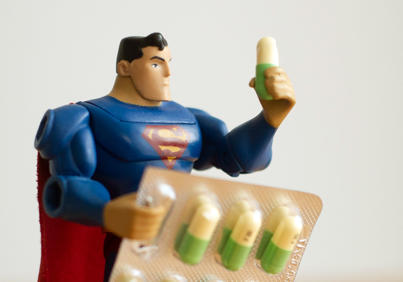 How to treat premature ejaculation - Superman with SSRI pills